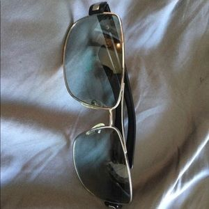 Prada SPR54I polarized sunglasses